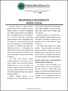 business continuity whitepaper cover